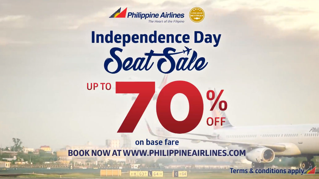Philippine Airlines Seat Sale Discount Promo