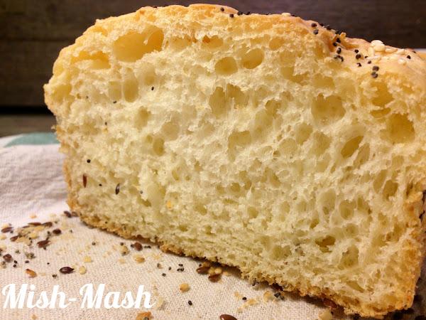 Бял хляб без месене