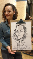caricature of girl