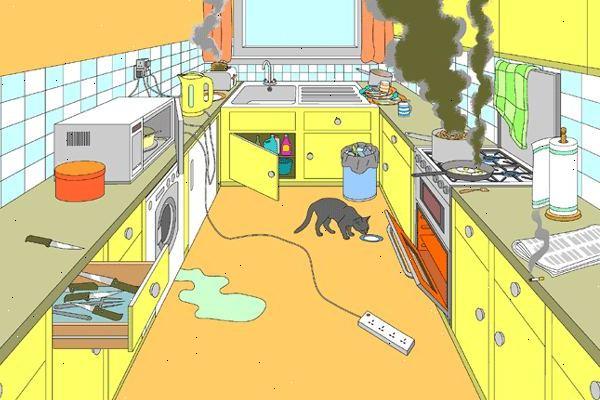 Giữ an toàn trong nhà bếp là điều quan trọng hàng đầu