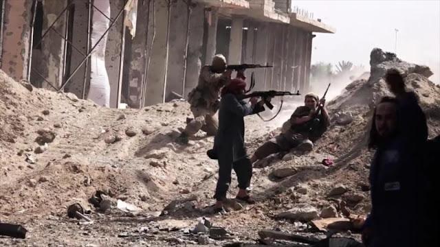 Daesh toma campo petrolífero ocupado por aliados de EEUU en Siria
