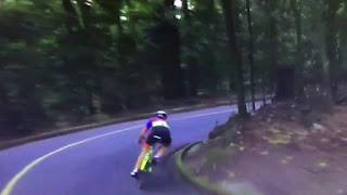 Veja vídeo: Ciclista holandesa sofre violento acidente no Rio