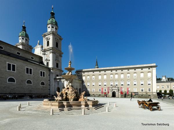 Residenzplatz (Salzburgo, Austria)