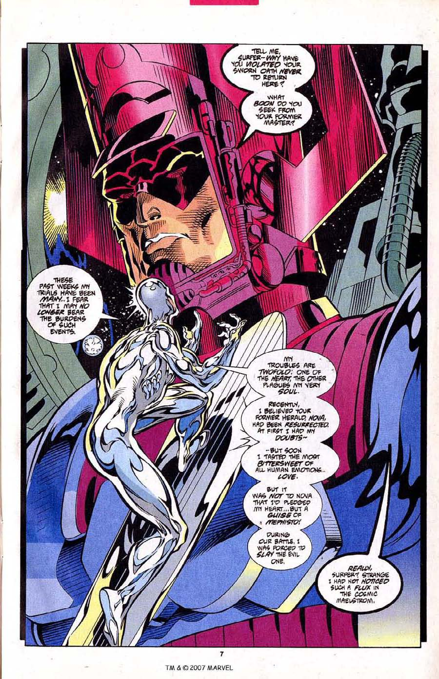 Read online Silver Surfer (1987) comic -  Issue #102 - 9