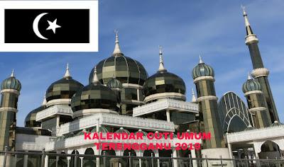 Kalendar Cuti Umum Terengganu 2019