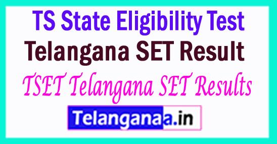 Telangana SET Result 2018 TSET Telangana SET Results