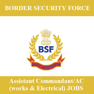 Border Security Force, BSF, Ministry of Home Affairs, Govt. of India, Force, Graduation, Assistant Commandant, freejobalert, Sarkari Naukri, Latest Jobs, bsf logo