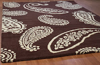 Custom rug made in hand-tufted