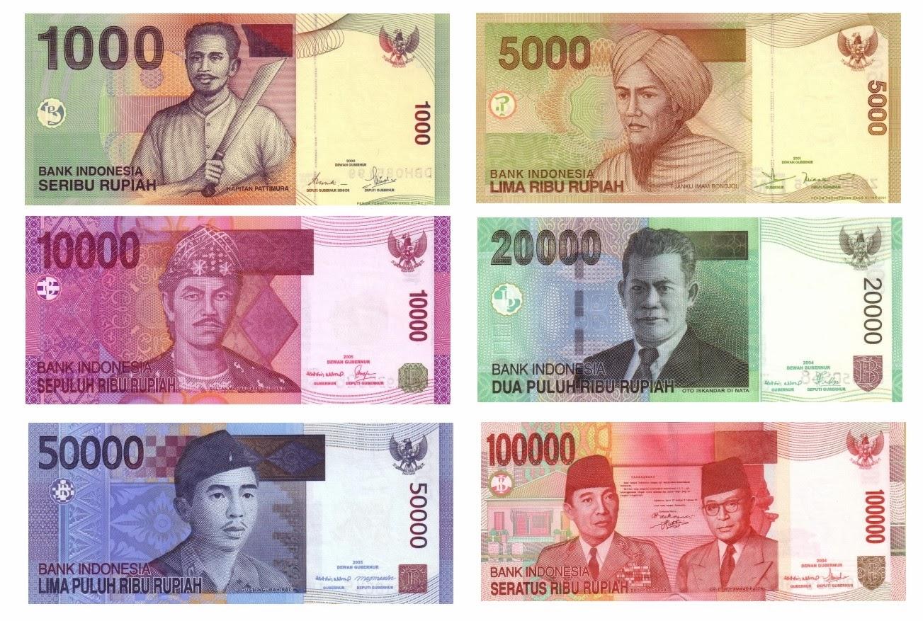 Gambar Pahlawan Pada Mata Uang Indonesia