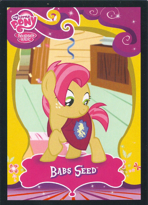 MLP Babs Seed Trading Cards   MLP Merch