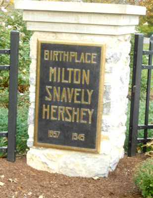 Birthplace of Milton S. Hershey in Hershey Pennsylvania