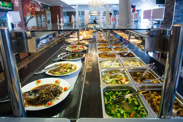 Restaurant Asiatic Bucuresti - All You Can Eat - dimensiunea bufetului - Silviu Pal Blog
