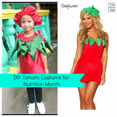 Children's Costume for Nutrition Month