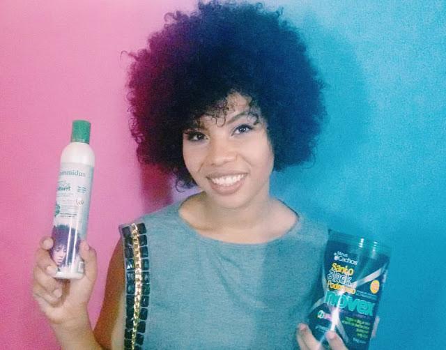 quais produtos usar no cabelo cacheado