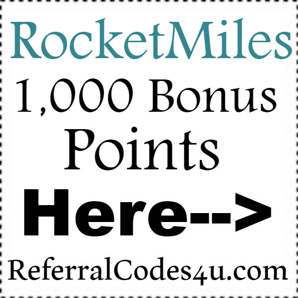 Rocket Miles Sign Up Bonus 2016-2021, RocketMiles Coupon Code September, October, November