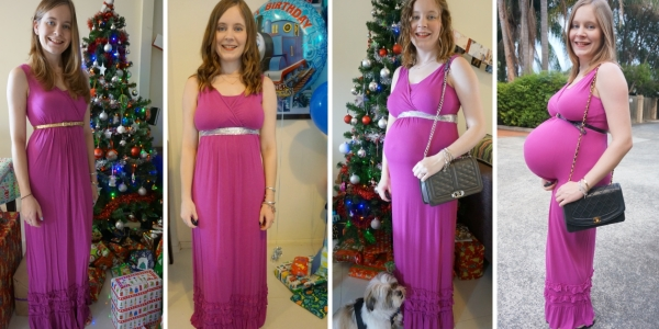 4 ways to wear a pink maxi dress to special events | away from the blue