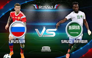 مشاهدة مباراة السعودية وروسيا بث مباشر كأس العالم الخميس 14-6-2018 - Russia vs Arabia Saudi LIVE
