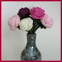 Ramo de rosas amigurumi