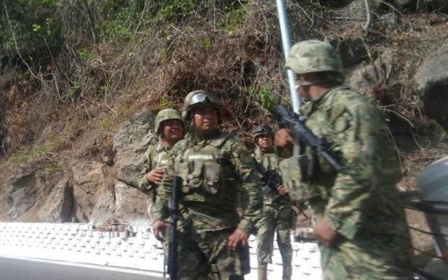 Sicarios del Cártel del Golfo emboscan convoy militar y matan a un soldado a rafagazos en Reynosa