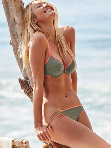 Candice Swanepoel – Victoria's Secret Bikini Swimwear Models Photo Shoot