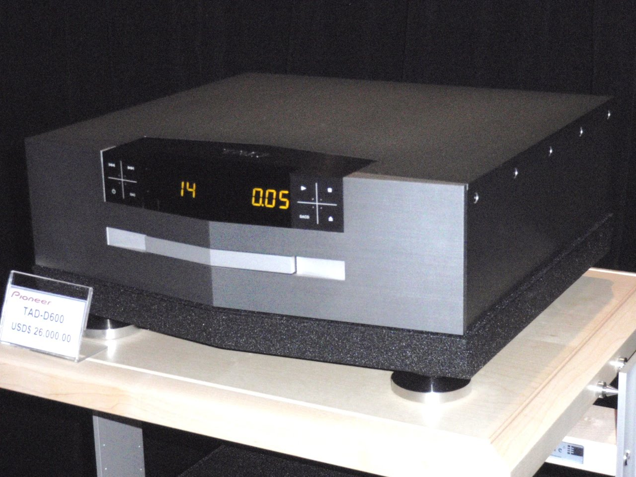 HiFi Unlimited: TAD D600 CD/SACD Player, Is Now On Demo, At
