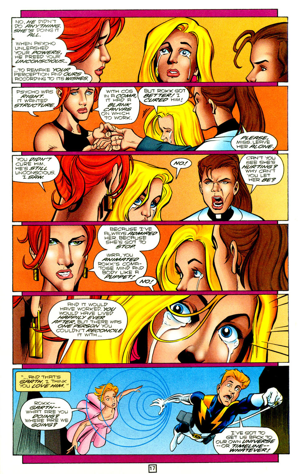 Legion of Super-Heroes (1989) 96 Page 17