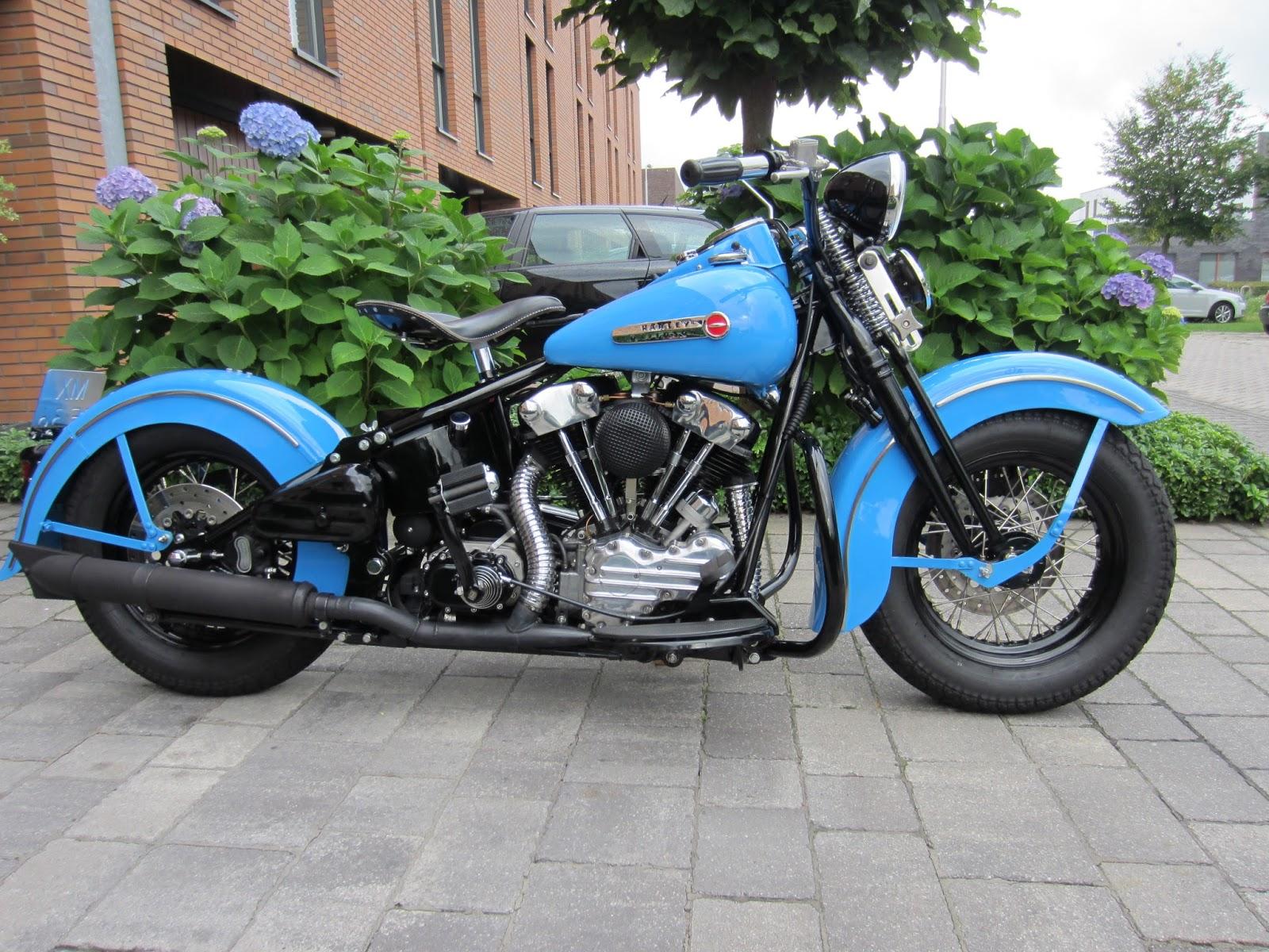 Harley Davidson: DD Motorcycles: HARLEY-DAVIDSON KNUCKLEHEAD FL 74 Cubic