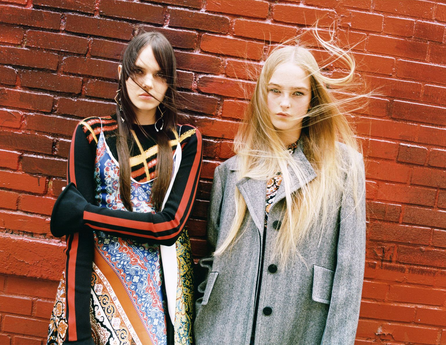 Jean Campbell & Lily Stewart for Vogue UK August 2016