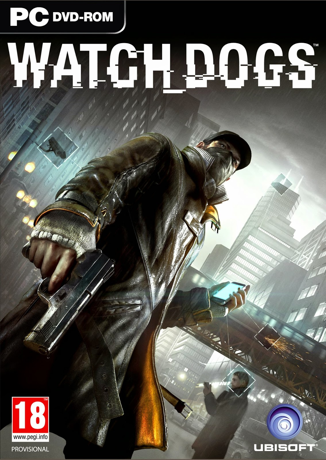 watch dogs box art pc - Watch Dogs PC