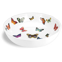 Ferris Wheels and Carousels Butterfly Dish