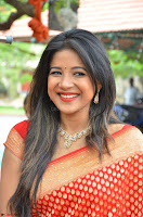 Sakshi Agarwal  in Orange Saree at Inauguration of Handloom And Handicraft exhibition ~  Exclusive 39.JPG