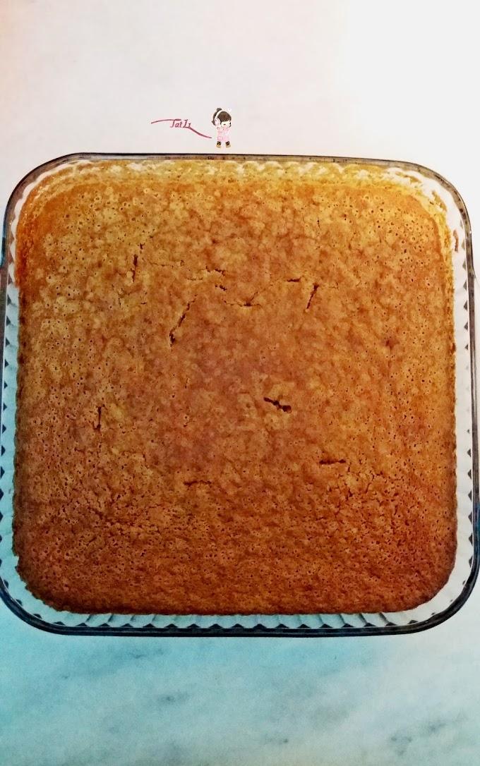 Elmalı Tarçınlı Cevizli Kek  Tarifi