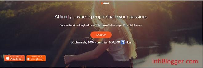 Affimity Social Network