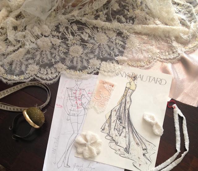 Collection sur mesure robes de mariée @ Fanny Liautard Paris