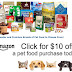 $10 of Free Pet Food From Amazon!