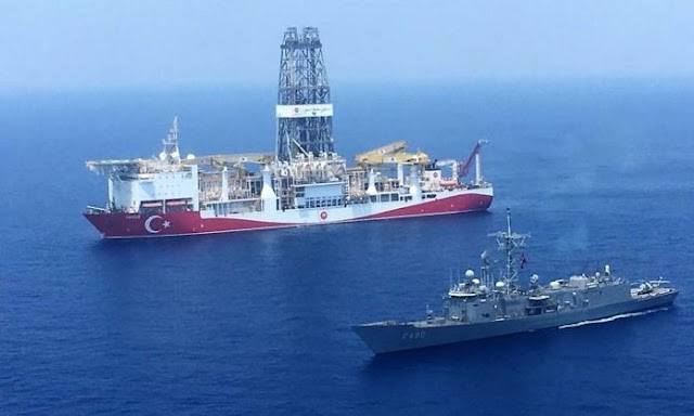 Νέες απειλές από Άγκυρα: «Αιτία πολέμου αν επιτεθεί η Ελλάδα σε τουρκικό ερευνητικό πλοίο στην Μεσόγειο (Κρήτη)»