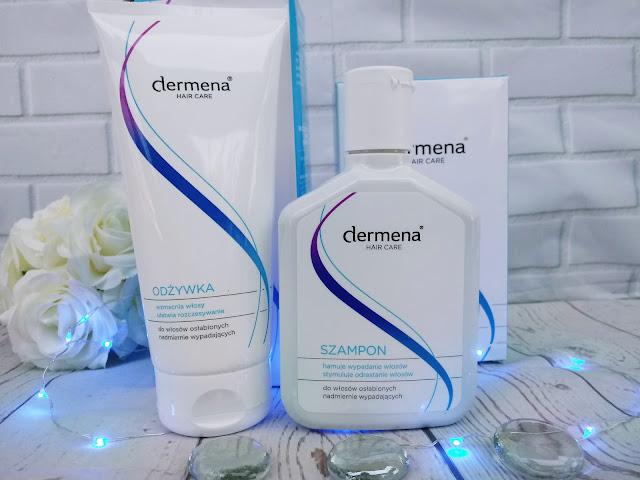 Dermena Hair Care- szampon + odżywka do włosów