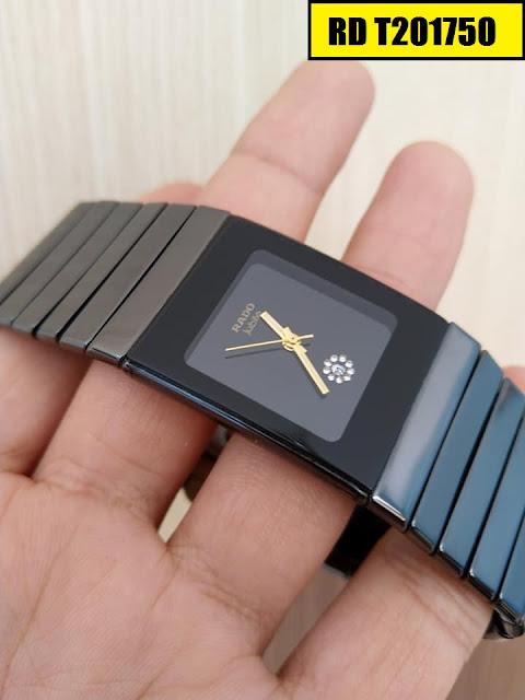 Đồng hồ nam mặt chữ nhật Rado RD T201750