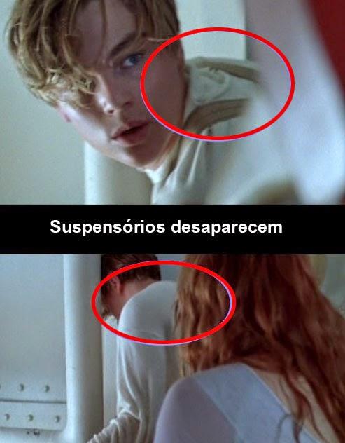 Piores Erros filme Titanic
