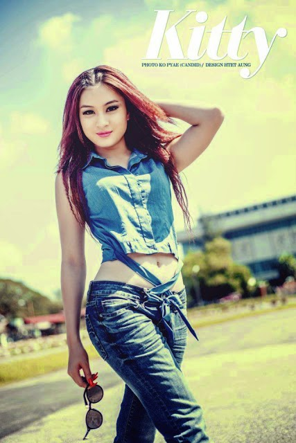 Myanmar Model Wut Hmone Shwe Yi - Hello Kitty I'm So Pretty