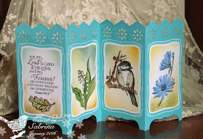 ODBD Scripture Collection 11, Autumn Blessings, Easter Blessings, You Will Find Refuge, Chicory Single, ODBD Customer Card of the Day Created By Sabrina Friel