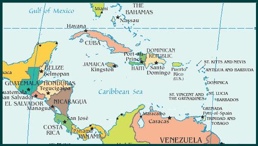El Bal de la Geografa Per y Mundo PRESIDENTES DEL CARIBE