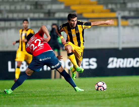 Video Peñarol 2 - Wilstermann 2 Copa Libertadores