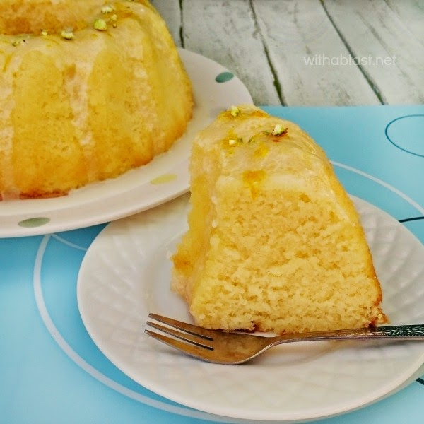 Orange Juice Cake, shared by With a Blast