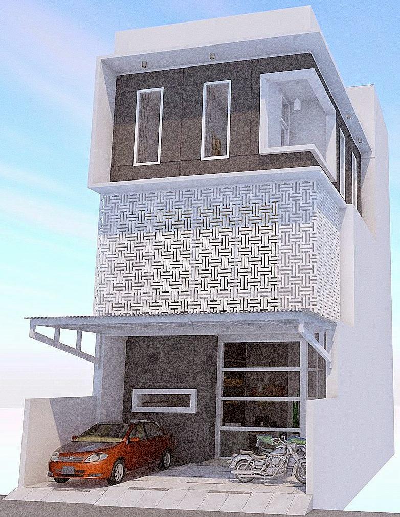 Desain Rumah Minimalis Jadi Pesantren - Tampak Depan