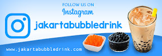Follow Instagram Jakarta Bubble Drink
