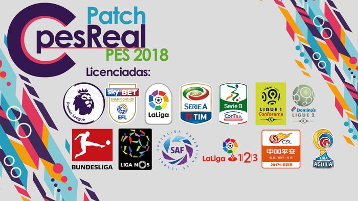 PES 2018 XBOX 360 C-PesReal Patch Update v8 5 Season 2018