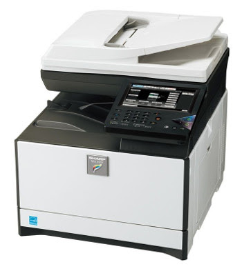 W units upwards without problems both via a Wi Sharp MX-C301 Driver Download
