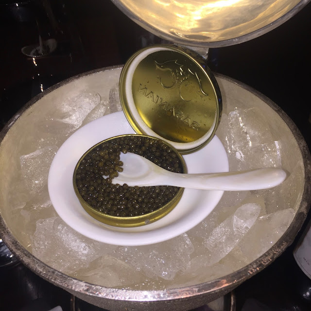 Royal Osetra Caviar - Jean George JG Grill Miami St. Regis Bal Harbour