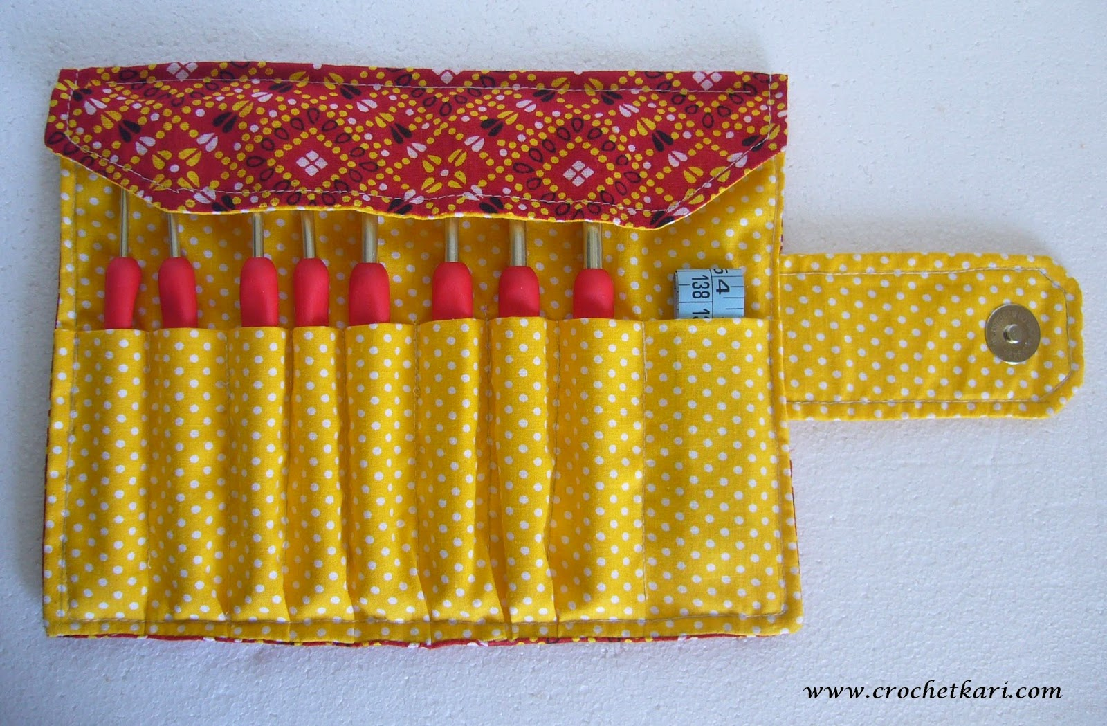 Crochetkari Crochet hook case